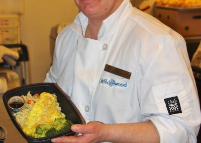 Wedgewood Chef with Meal