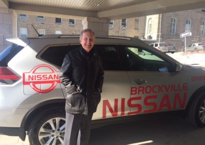 Senator Runciman and Nissan 1G