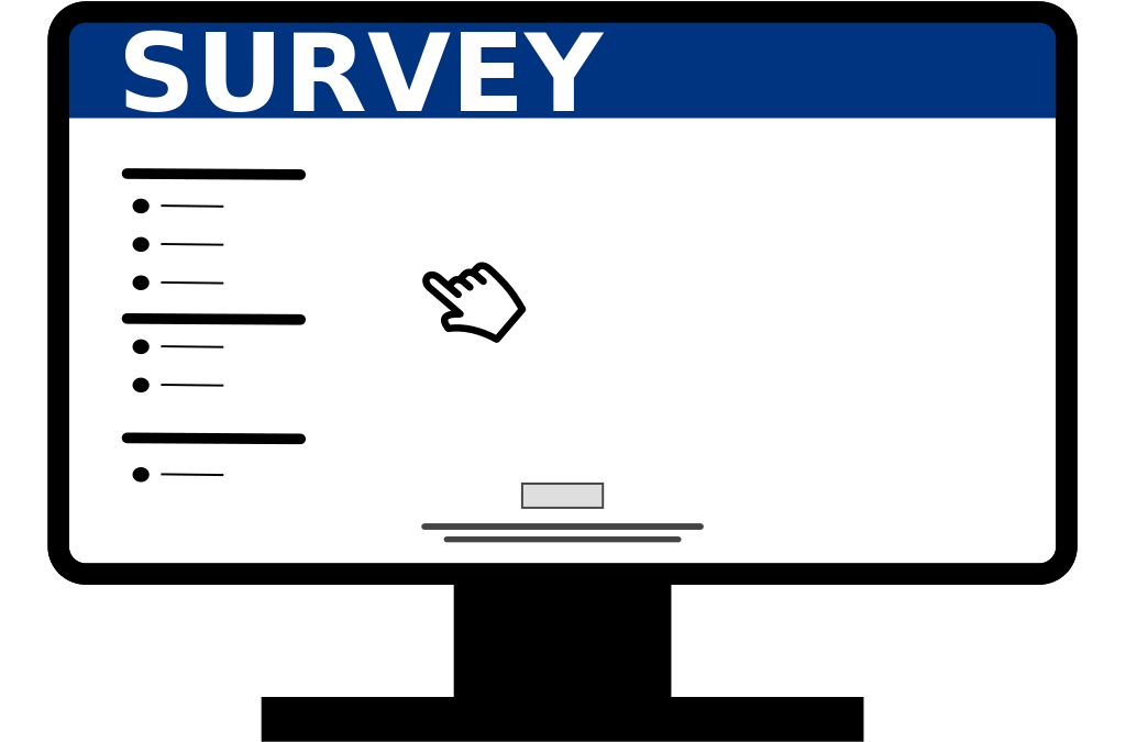 Tell Us How We Are Doing by Completing Our Consumer Experience Survey
