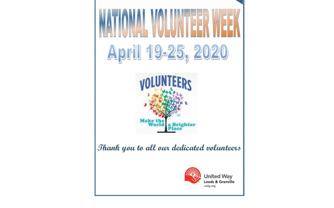 Thank you to all our amazing and dedicated volunteers