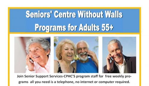 Senior Support Services-CPHC Launches Exciting Program